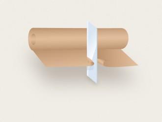 Řezání a převíjení papíru